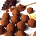 Easy Vegan Orange Chocolate Truffles