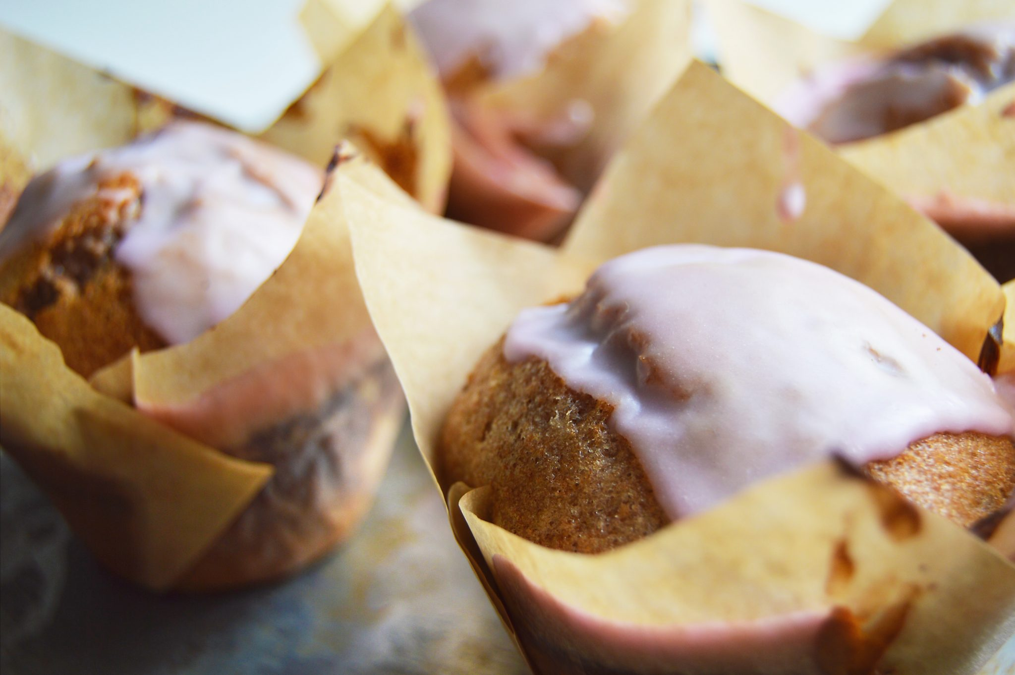 Vegan Mulled Wine Muffins