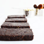 Raw Vegan Fudgy Chocolate Bars