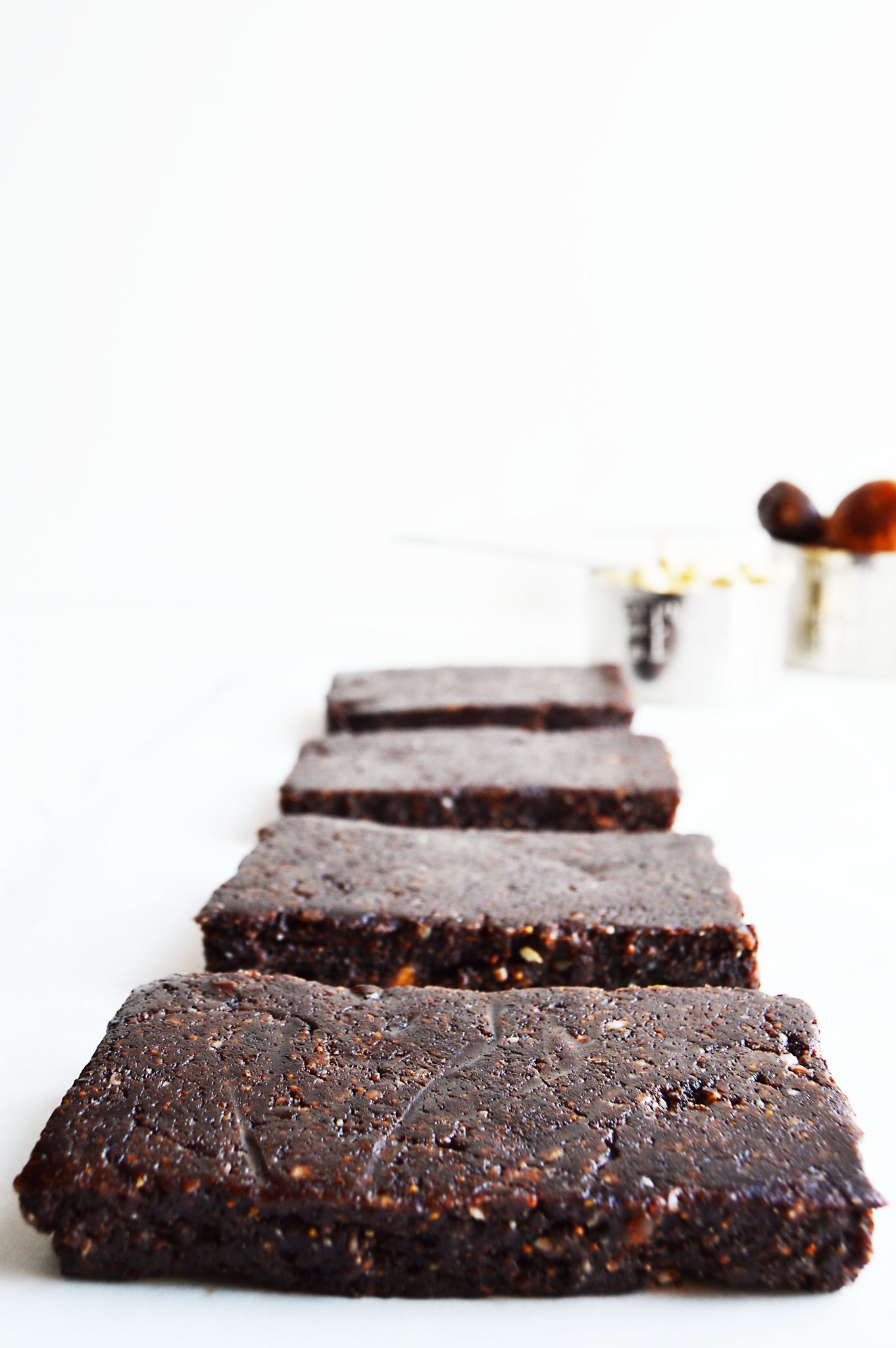 Chewy Raw Vegan Chocolate Bars