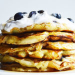 Vegan Blueberry 'Buttermilk' Pancakes (+ Video)