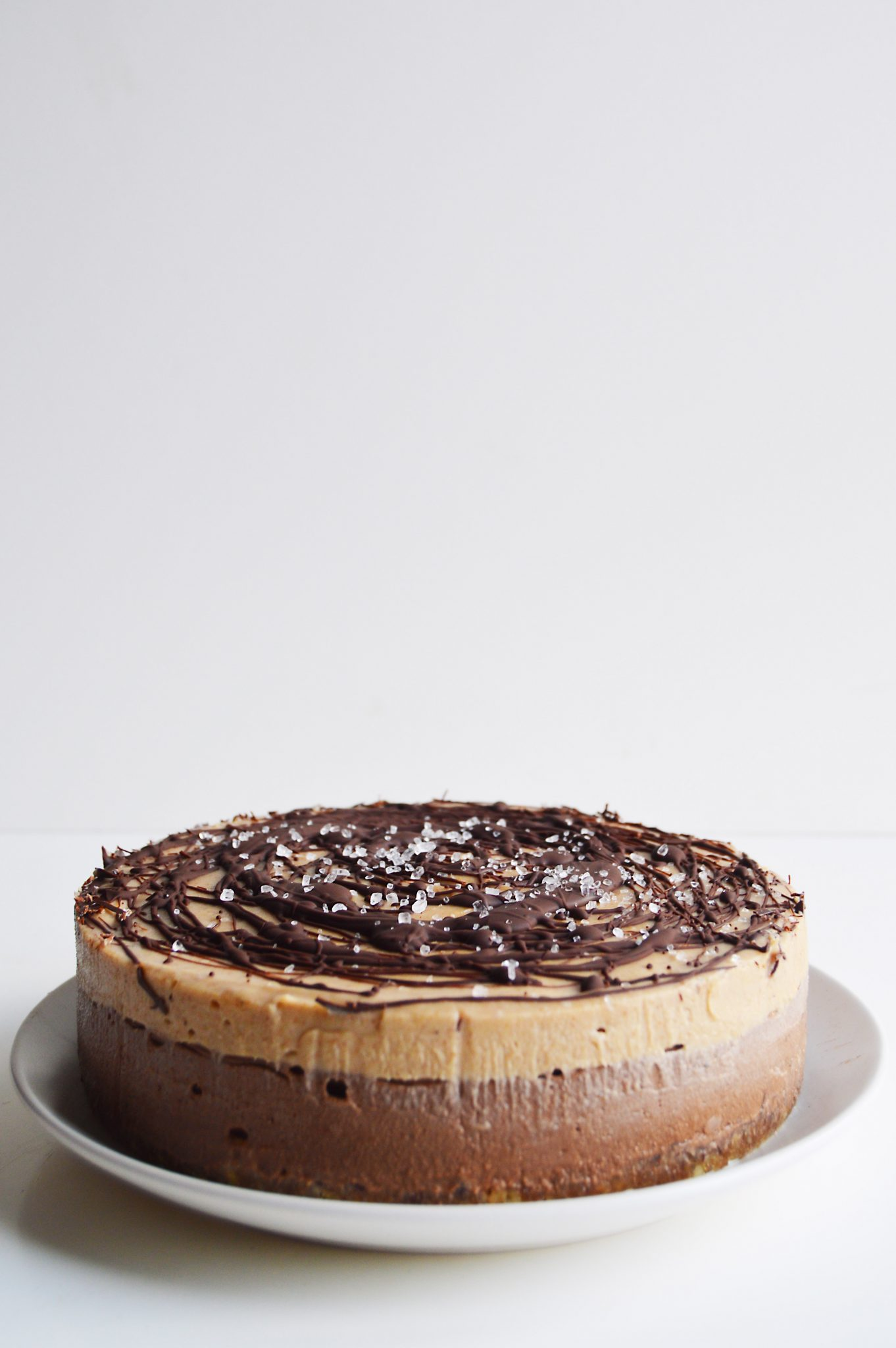 Vegan Chocolate & Salted Caramel Cheesecake - My Vibrant ...