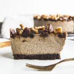 Vegan Spiced Chai Cheesecake