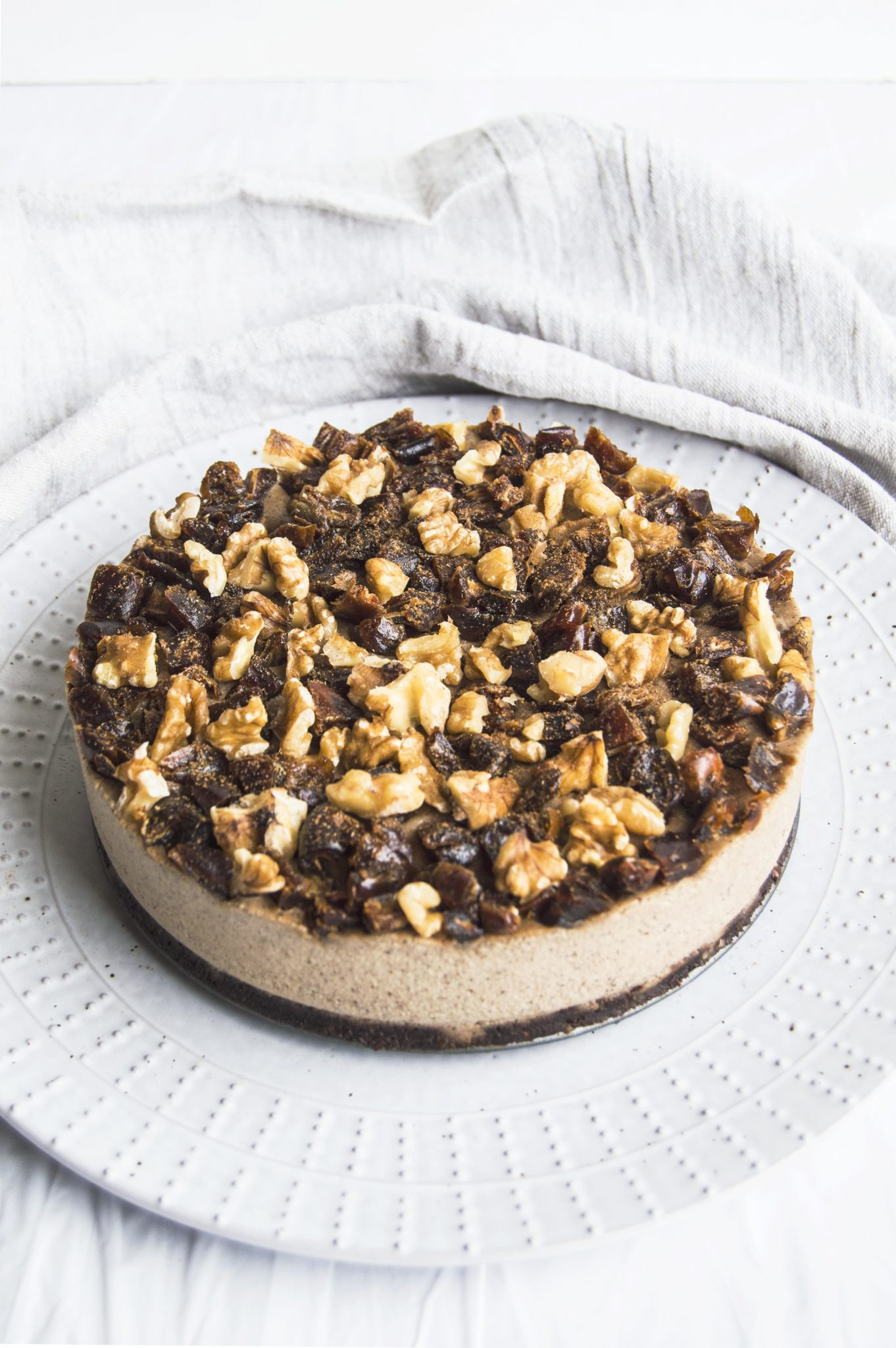 Vegan Spiced Chai Cheesecake