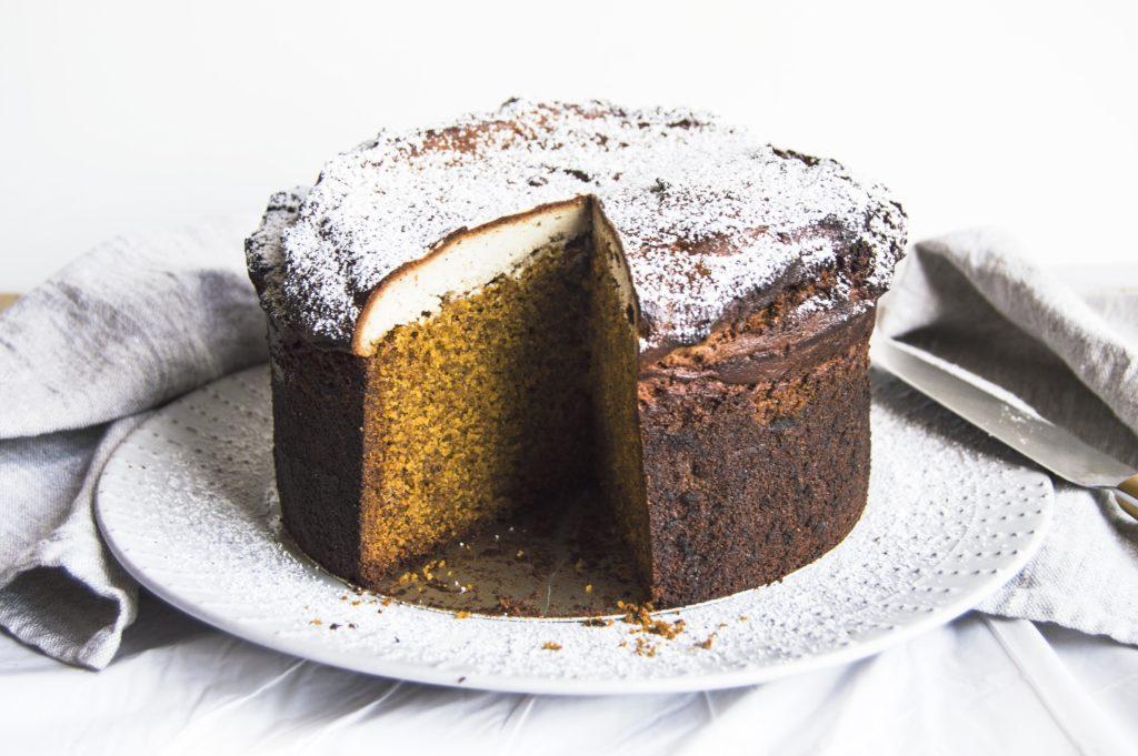 Chocolate Cardamom Spice Cake