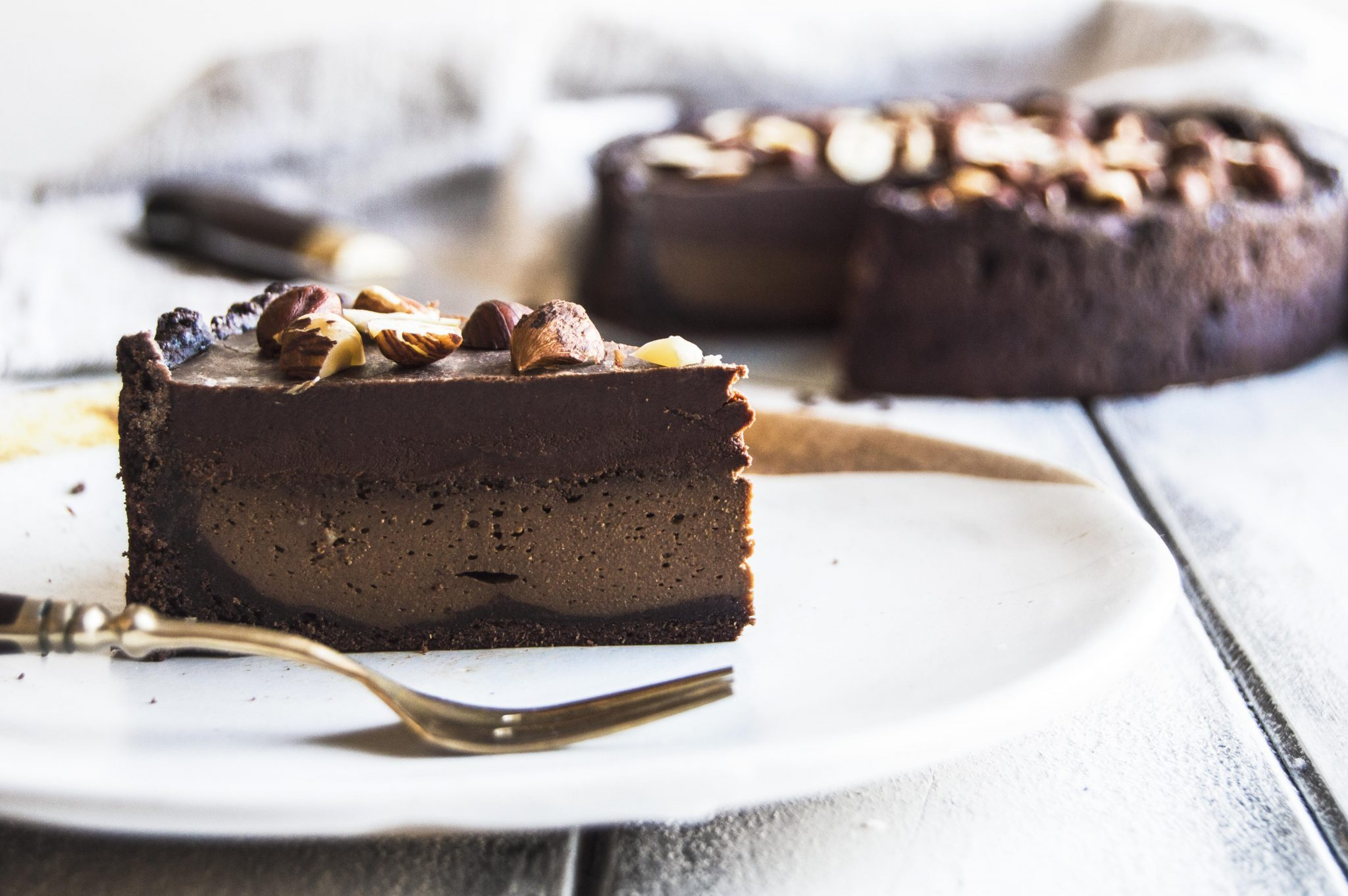 Vegan Mocha Chocolate Pie