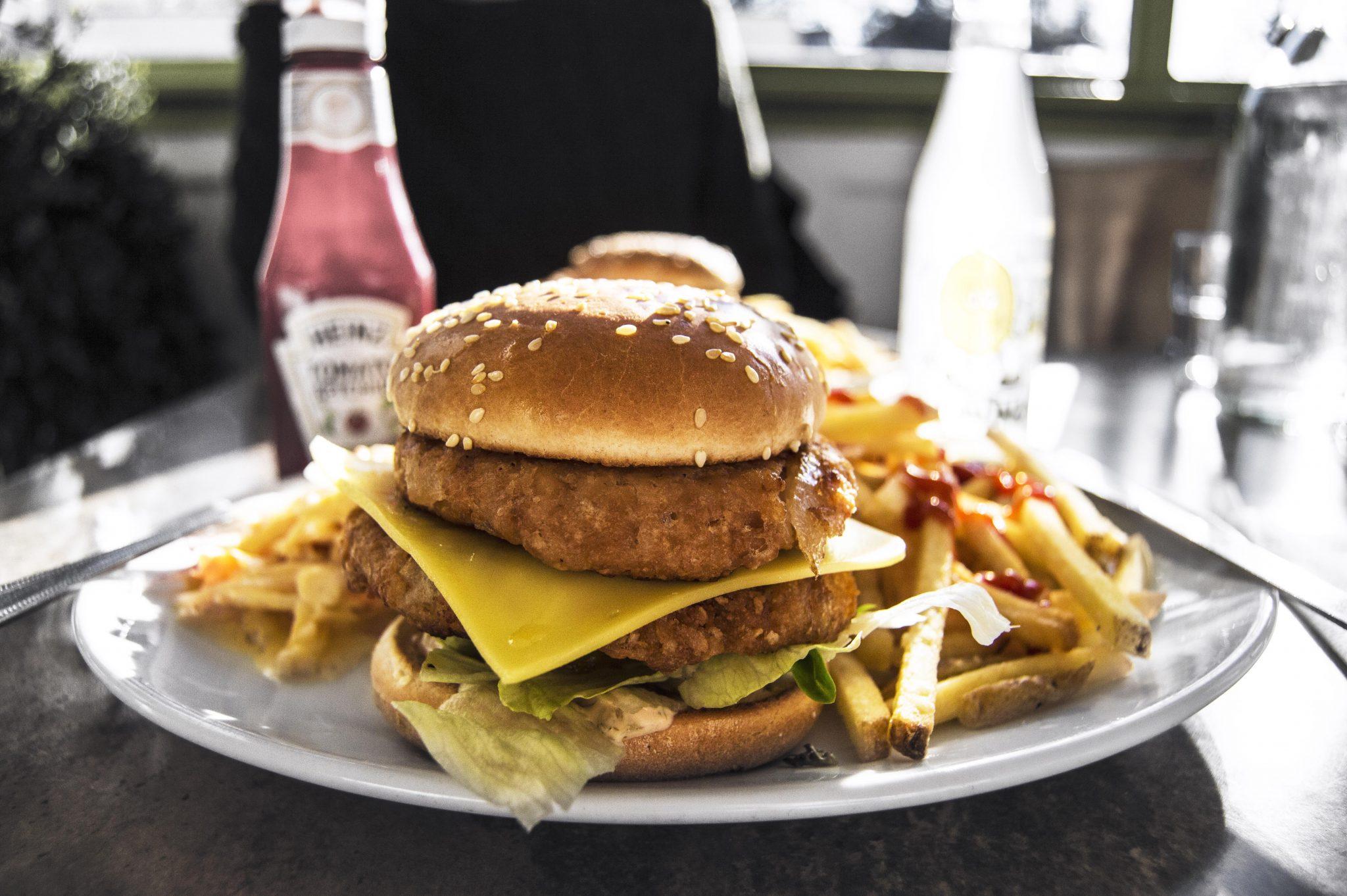 A Vegan In London – Double Veggie Burgers in Brixton
