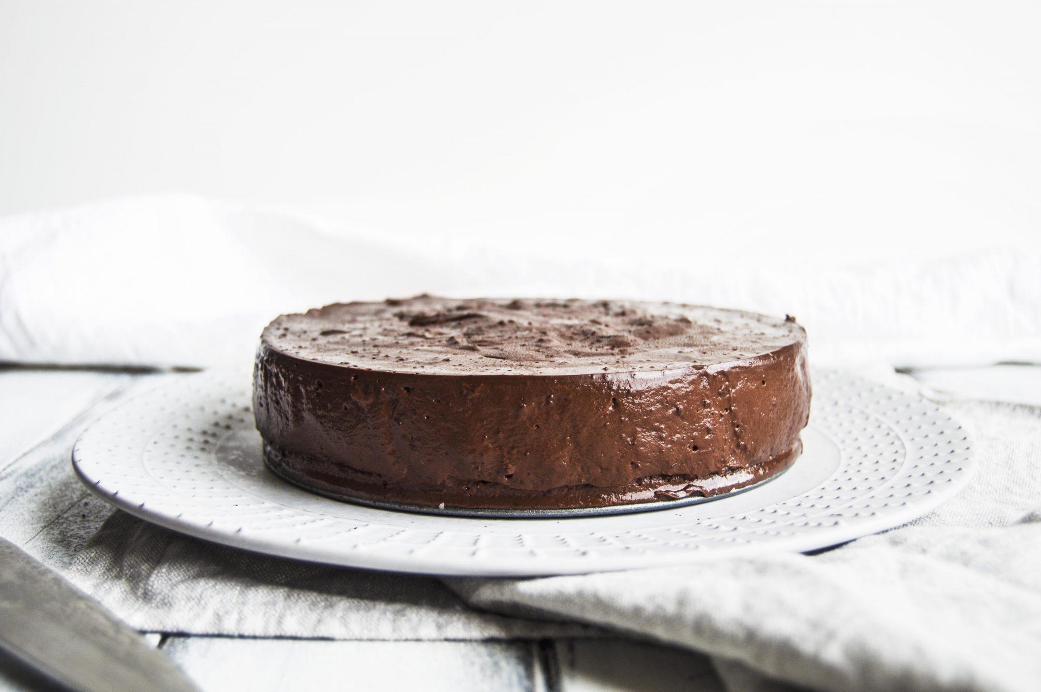 Vegan Chocolate Pudding Silk Pie