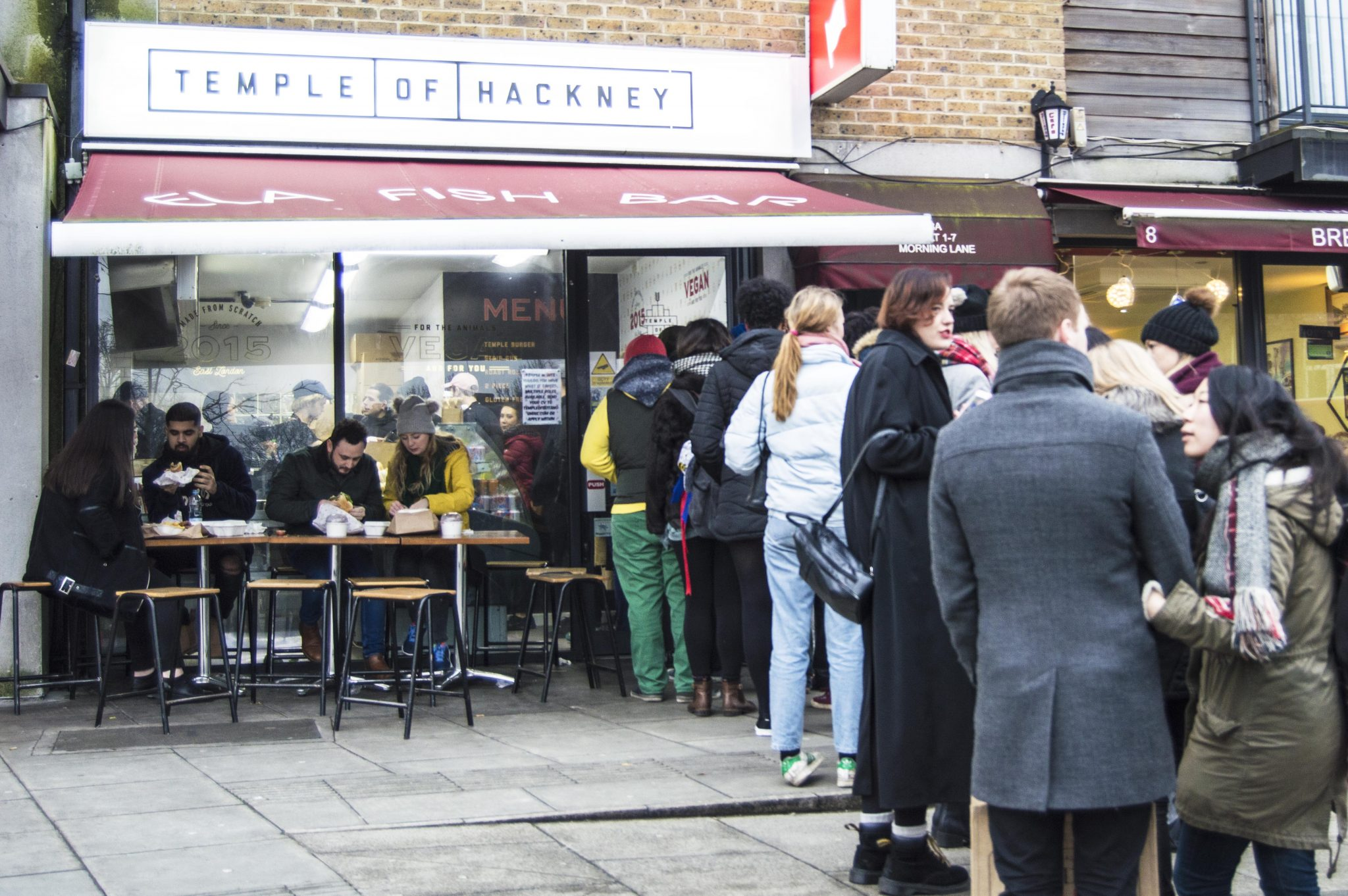 Temple Of Hackney Vegan Chicken London