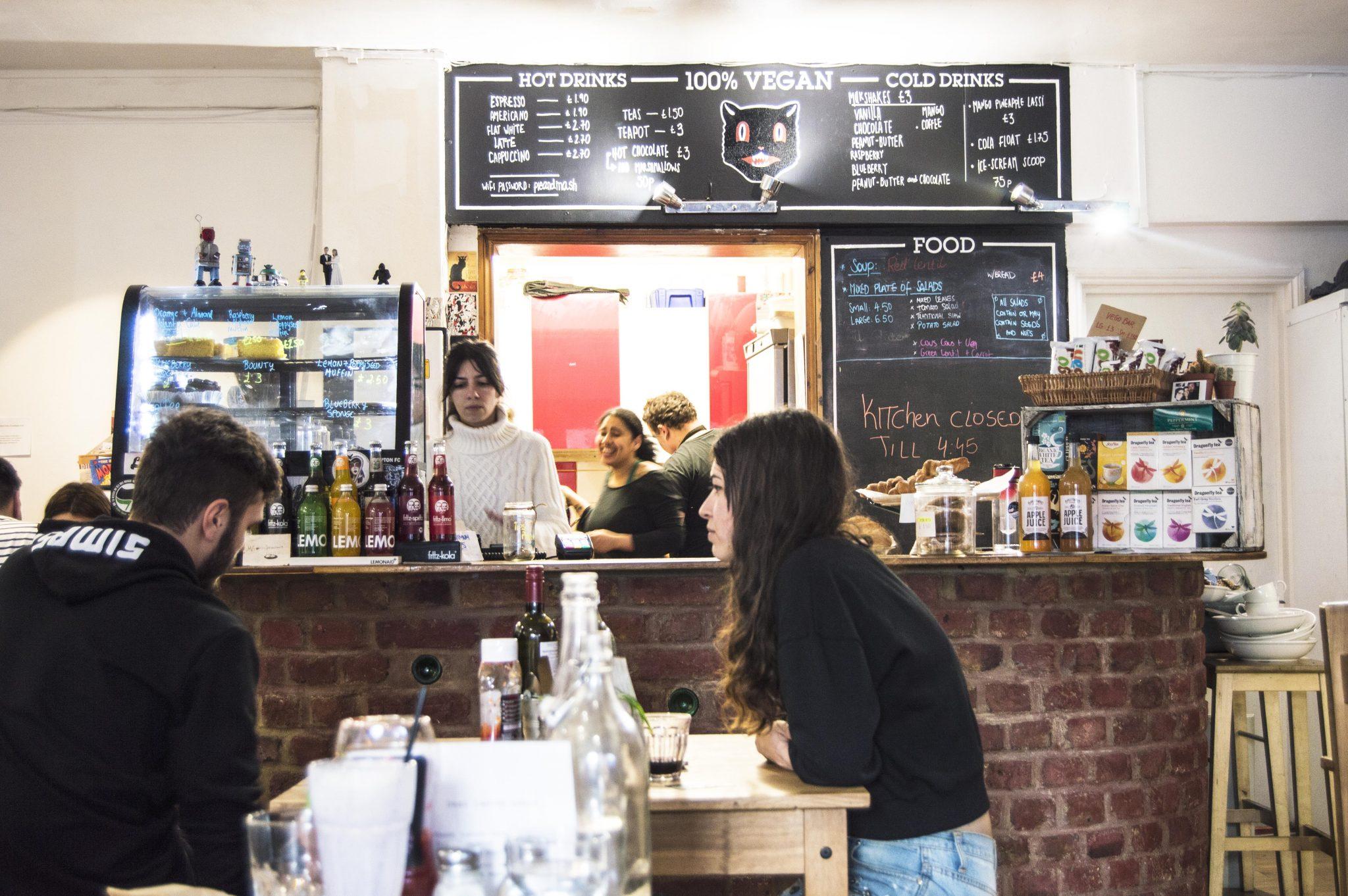 A Vegan In London – Black Cat Café
