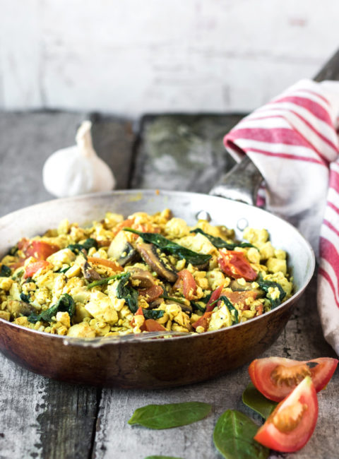 The Ultimate Vegan Tofu Scramble
