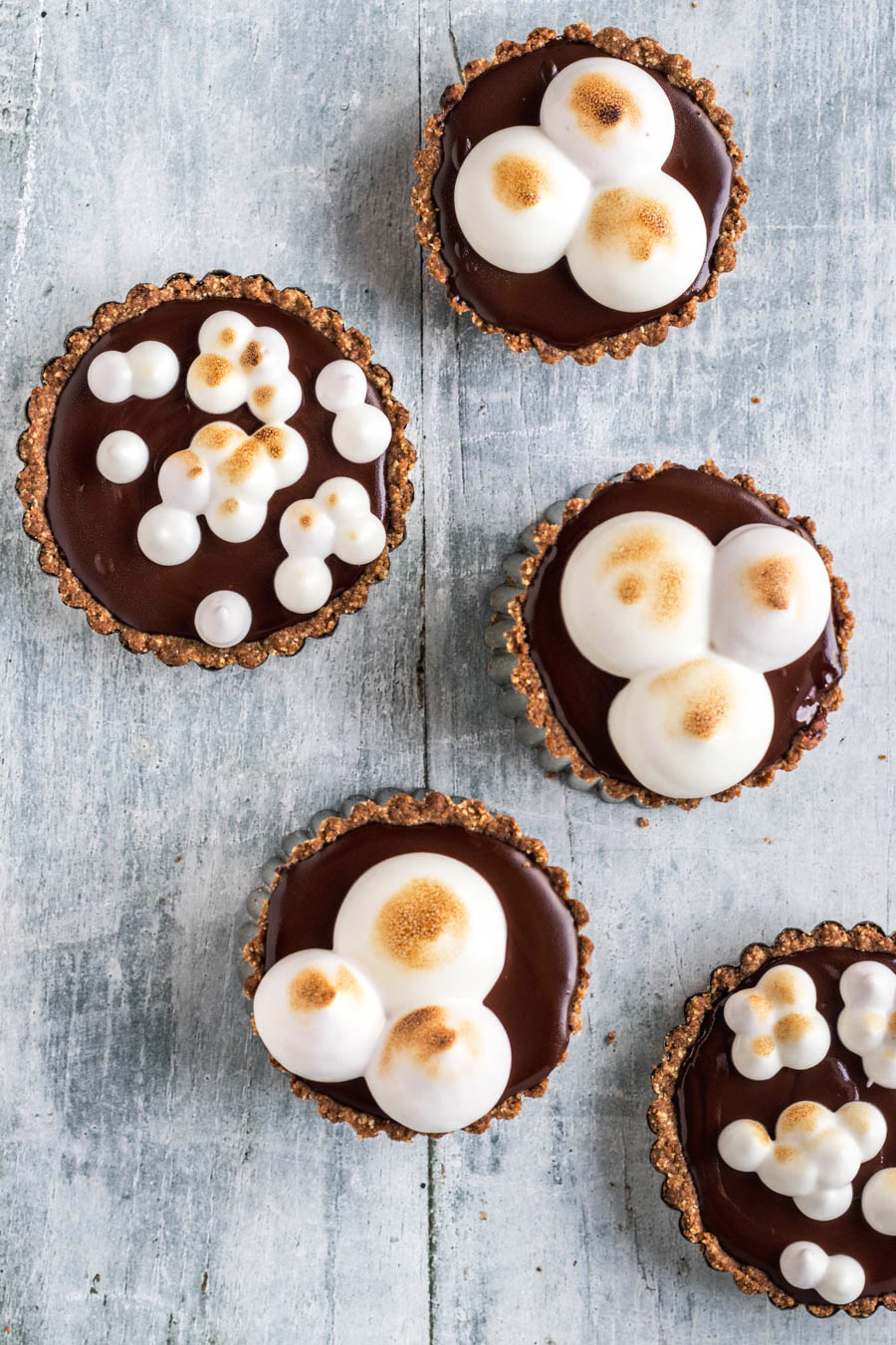 Vegan S'mores Tartlets