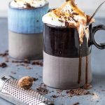 Vegan Toasted Marshmallow Hot Chocolate