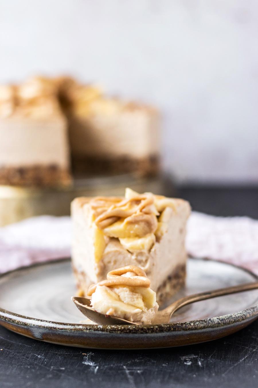 Vegan Banoffee Cheesecake