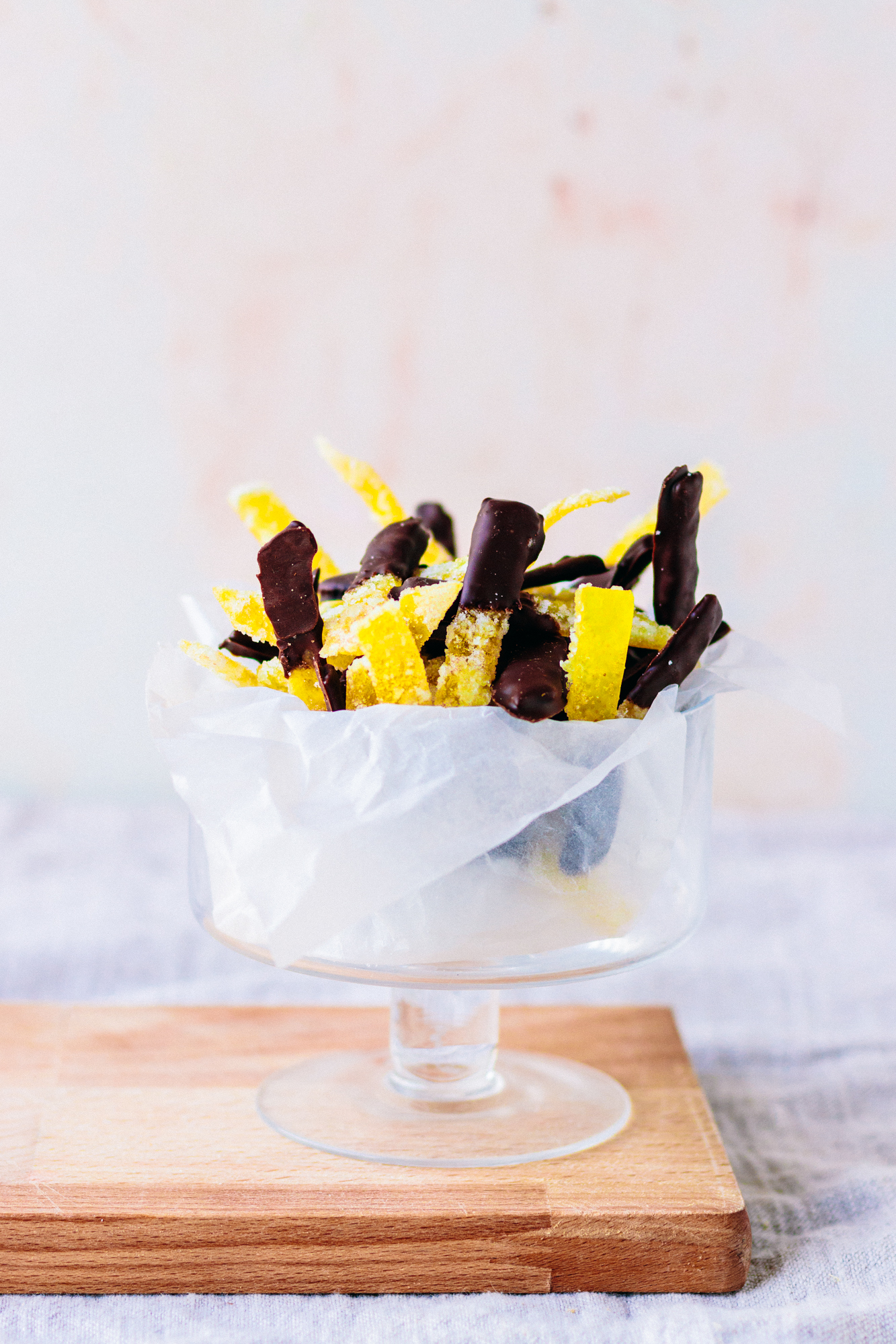 Chocolate Dipped Candied Pomelo Peel