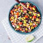 Vegan Loaded Black Bean Salad