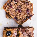 Vegan Cranberry Chocolate Chip Banana Bread